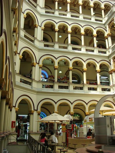 The former Palacio Nacional - now converted into a shopping centre (what else?). Medellín - Colombia.