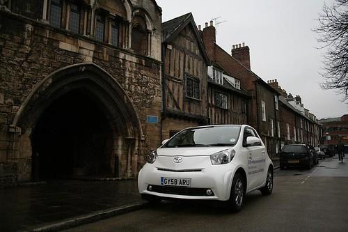 toyota iq, 500-mile drive, fuel economy
