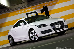 Audi TT 2008 (Mishari Al-Reshaid Photography) Tags: white cars car sport photo