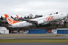 GOL PR-GGJ (Drewski2112) Tags: seattle county field washington airport king air international boeing airlines gol 737 737800 bfi kbfi prggj