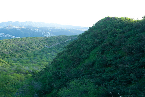 Hiking Diamond Head - 051