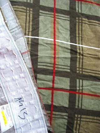 Corduroy curtain (now pants!)