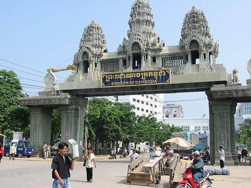 Toegangspoort tot Cambodja