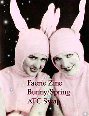 faerie zine swap spring atc