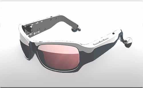 Gafas con con Bluetooth