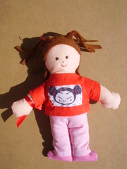 Pucca (**Taller Muy Freak**) Tags: girls boys colors children toys doll nios colores kindergarten ragdolls trapo muecos fabrics telas clothdolls