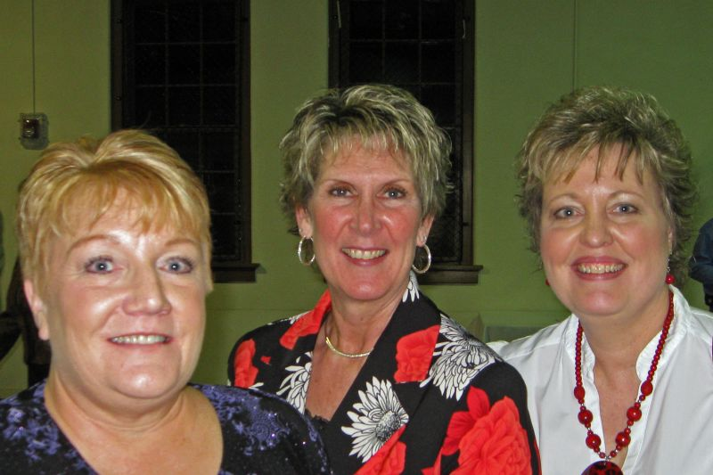 Gina, Vicki and Lisa