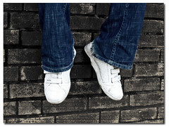 (Uncle Berty) Tags: uk blue england colour brick wall phil jeans berty brill bucks mott selective smalls motty hp18 robfurminger
