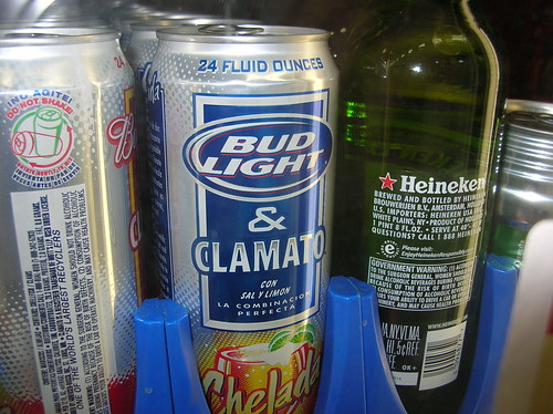 Bud Light and Clamato
