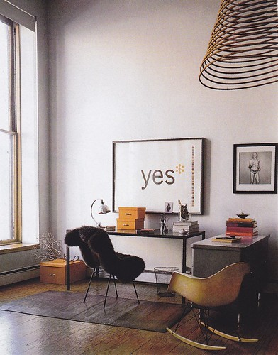 Photographer Dana Gallagher's NY apartment