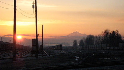 Sunrise at PoCo Station