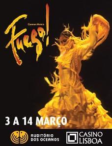 Fuego 3-14 Março
