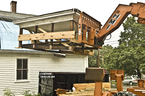 Jenckes store museum skylight restoration