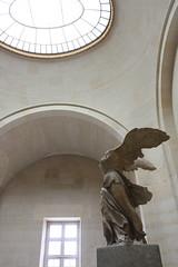 Victoire de Samothrace at Musee de Louvre