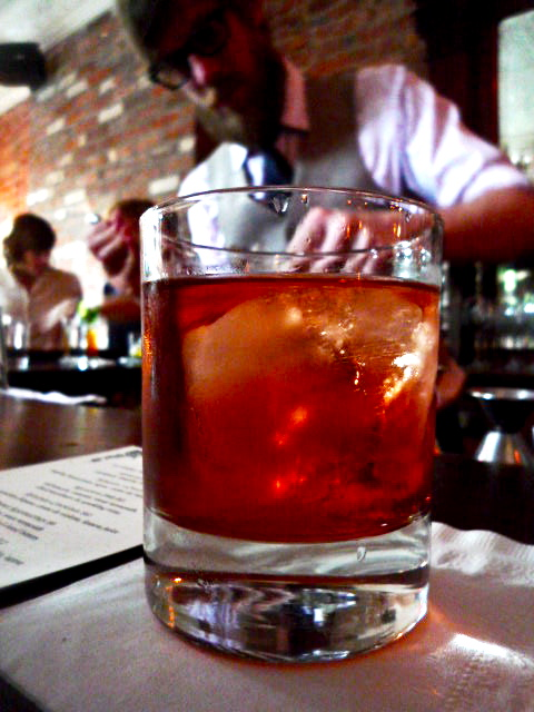 Applejack Sazerac at Prime Meats