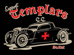 Support the Templars C.C. (Transmission77) Tags: barcelona graphicdesign spain hotrods carclub t77 kustomkulture 34ford alexmaldonado thetemplars transmission77com kustomgraphics transmission77 thehotrodtsunami