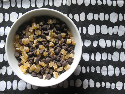 ginger + chocolate chips