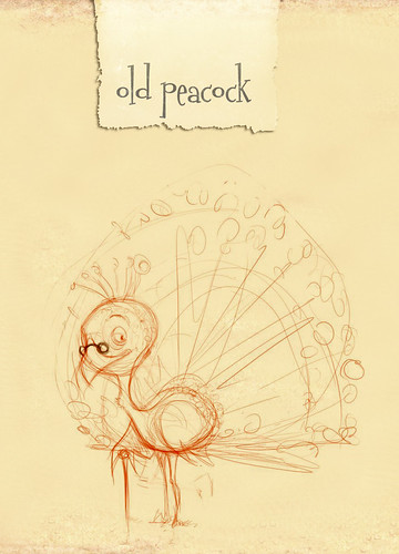First Draft of Yubiy (teacher) Peacock