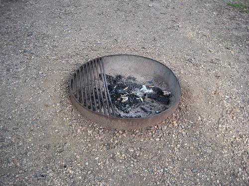 Lake Shetek fire pit