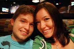 Date Night! [202/365] (Krysta Shippelt (Larson)) Tags: boy cute girl smile dinner fun happy couple ryan pasta date bostonpizza mmmm day202 krysta project365 shippelt rskl2012 rskl2010