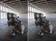 Simon Starling's The Nanjing Particles, v1 (anobjectn) Tags: sculpture art museum photography stereoscopic stereophotography 3d crosseye contemporaryart modernart starling massmoca handheld chacha artmuseum depth northadams 3dimensional crossview crosseyedstereo 3dphotography sitespecificart simonstarling 3dstereo nanjingparticles