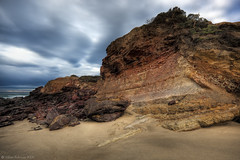The Great Ocean Road  Victoria  Australia (WilliamBullimore) Tags: sea sky sun clouds sunrise dawn rocks australia melbourne victoria erosion limestone greatoceanroad hdr hdri