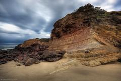 The Great Ocean Road  Victoria  Australia (WilliamBullimore) Tags: sea sky sun clouds sunrise dawn rocks australia melbourne victoria erosion limestone greatoceanroad hdr hdri