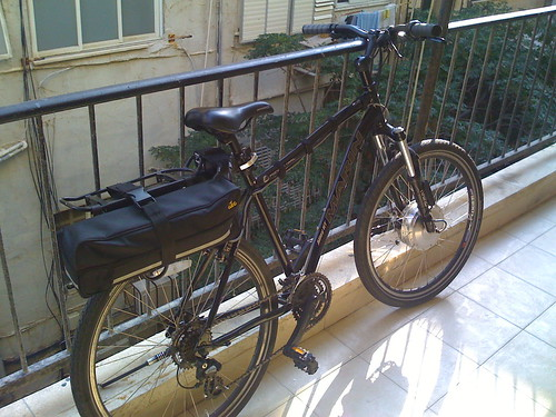 קיט eZee מורכב על אופני 26