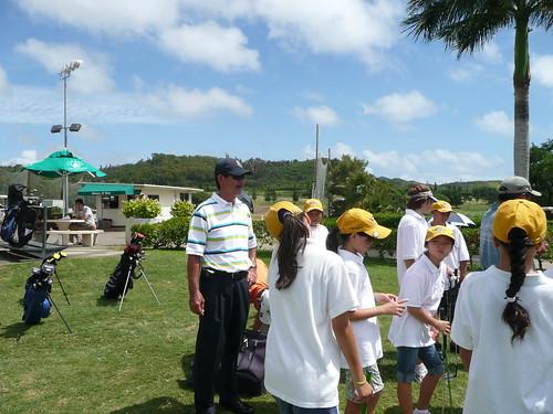 Jr golf Clinic 6