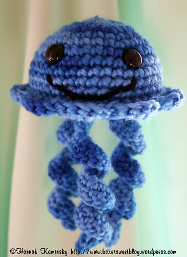 Free Crochet Pattern Jellyfish : Jellyfish Free Crochet Pattern from the Amigurumi Free ...