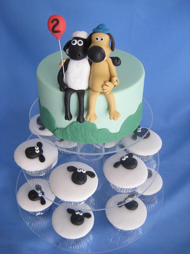Zacs Shaun the Sheep Cake