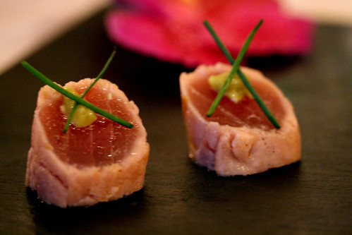 Tuna with wasabi