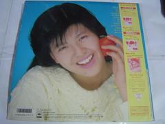 原裝絕版 1986年 6月30日 南野陽子 Yoko Minamino 春景色 黑膠唱片 原價  2800YEN 中古品 5