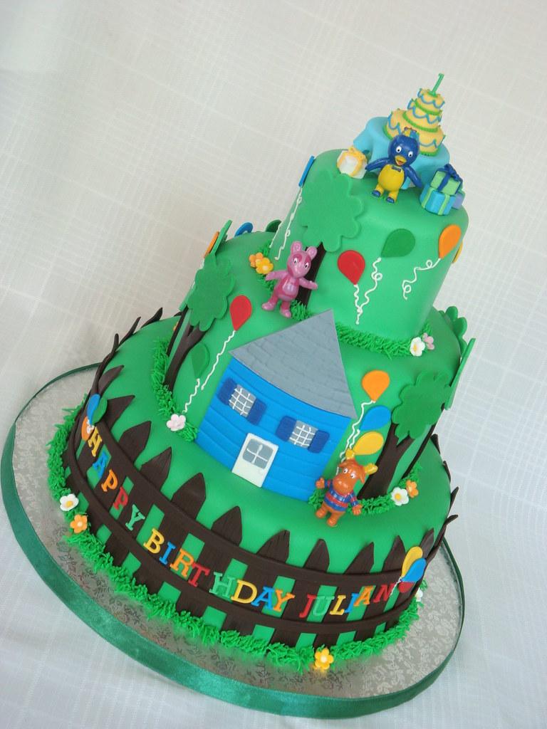 Backyardigans Birthday Party Birthday Cake