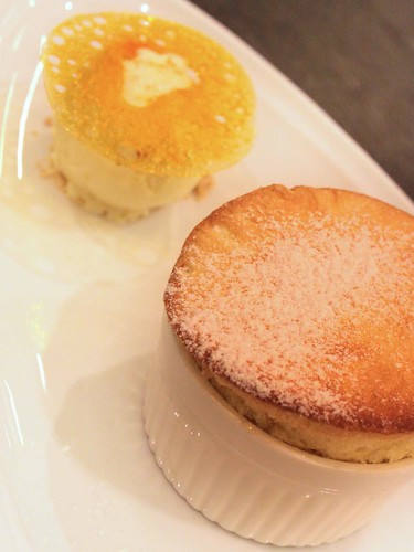 Red Miso Souffle
