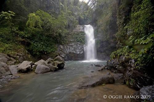 Nueva Vizcaya Imugan Falls Wide Angle View