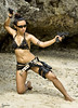 run... you ...! (zyans) Tags: woman lady laracroft blackhawk fears glock okley