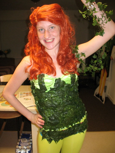 poison ivy. Poison Ivy Cosplay.