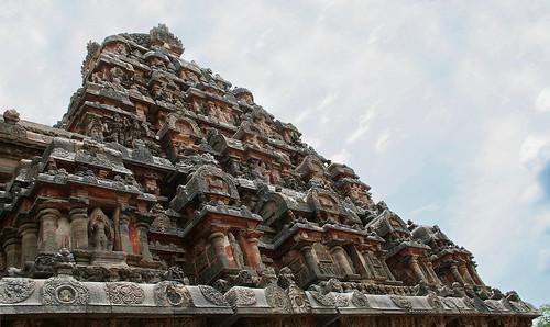 Pyramid Temple at Dharasuram