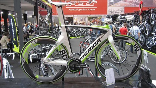 Green SRAM Wheels at Merida