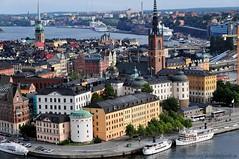 Stockholm Postcard view (nikkorglass) Tags: beautiful nikon view sweden stockholm postcard september vy sverige nikkor 18200 2009 stadshuset d300 vykort vackert nikkorglass 106m