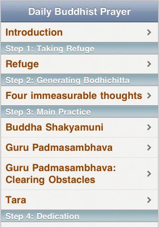 Daily Buddhist Prayers - Prayers
