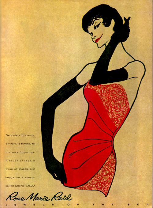 Vintage Ad #922: Rose Marie Reid