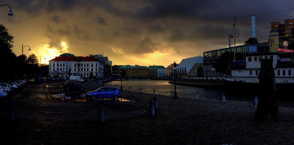 Gothenburg: Rosenlunds Kanalen