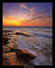 Revelation (tolis*) Tags: autumn sea seascape colors sunrise canon island bravo waves aegean greece breakthrough chios tokina1224f4 eos50d tolis   flioukas