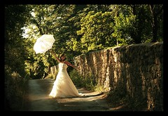 MARIAGE / WEDDING : Mary Poppins :) (Sebastien LABAN) Tags: wedding portrait white love face composition hair eyes cotedazur dress ceremony mariage shoulder glance 83 var sud photographe straphael saintraphael haircutlook freijus