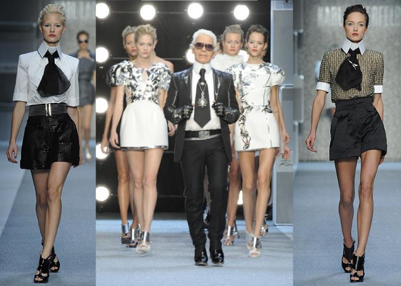 Karl Lagerfeld Spring 2010