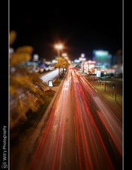 AL Khobar's lines , Bokeh (Will'y <> Wleed Mohammed) Tags: light cars photoshop lights nikon slow gulf bokeh 10 sigma kingdom corniche saudi arabia shutter ash mm arabian 20 eastern stree province khobar alkhobar       d40x  sharqiyah
