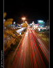 AL Khobar's lines , Bokeh (Will'y <> Wleed Mohammed) Tags: light cars photoshop lights nikon slow gulf bokeh 10 sigma kingdom corniche saudi arabia shutter ash mm arabian 20 eastern stree province khobar alkhobar السعودية الخبر كورنيش سرعة السيارات المنطقة d40x الشرقية sharqiyah الاضاءة