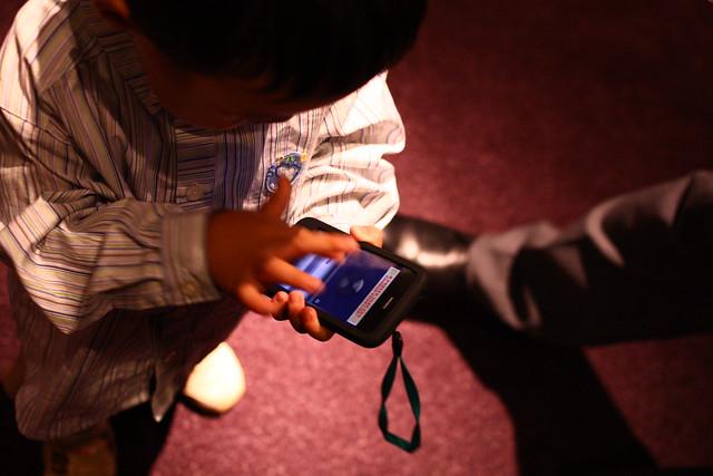 子供とiPhone